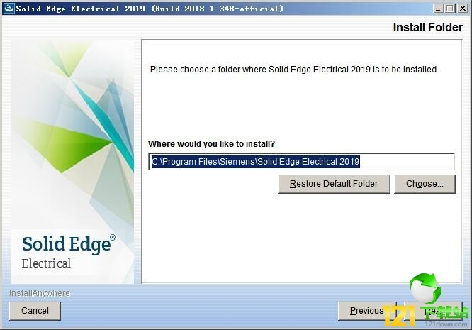 Solid Edge Electrical 2019图文安装教程