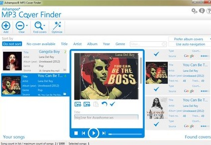 MP3编辑工具(Ashampoo MP3 Cover Finder) v1.0.9 中文版