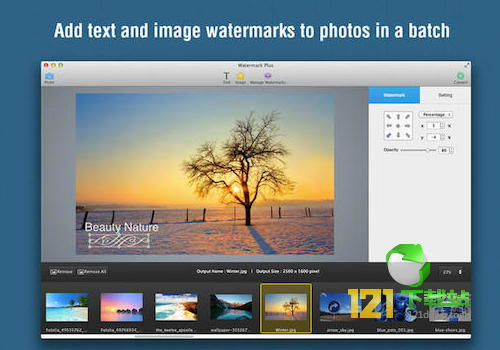 Watermark Plus For Mac下载 v1.5.8免费版