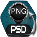 Convert PSD to PNG For Mac(psd转png转换器)下载 v4.0