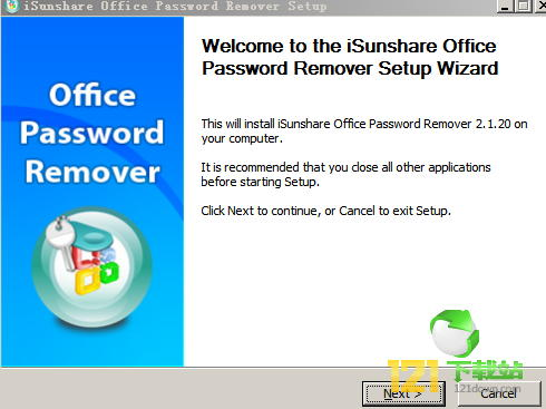 office密码移除工具((iSunshare Office Password Remover)下载 v2.1.20免费版